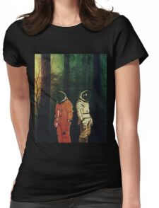 Lost # 1 Womens Fitted T-Shirt