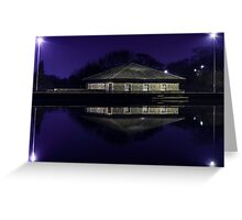 Midnight Reflections Greeting Card