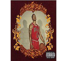 Derrick Rose X Kanye West Photographic Print