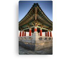 Korean Friendship Bell Canvas Print