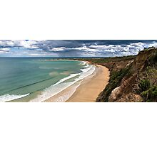 Pt Roadknight Storms,Great Ocean Road,Australia. Photographic Print
