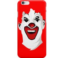 clown red funny birthday iPhone Case/Skin