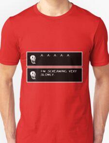 Undertale Papyrus Scream T-Shirt