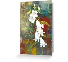 White Bells Greeting Card