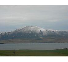 Mountain range, Orkney Photographic Print