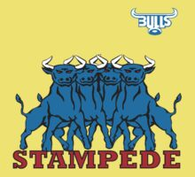 BLUE BULLS  STAMPEDE RUGBY Kids Clothes