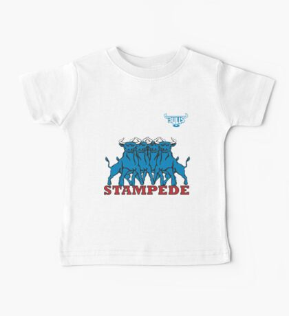 BLUE BULLS  STAMPEDE RUGBY Baby Tee