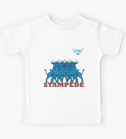 BLUE BULLS  STAMPEDE RUGBY Kids Tee