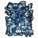 Mega Minions by HartmanArts