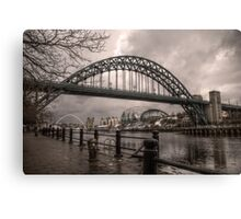 HDR Tyne Bridge Canvas Print