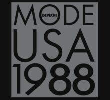 Depeche Mode : USA 1988 - Grey by Luc Lambert