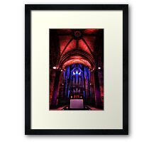 The Holy Table in St Giles' Cathedral, Edinburgh, Scotland #2 Framed Print