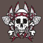 Native American Skull by SmittyArt