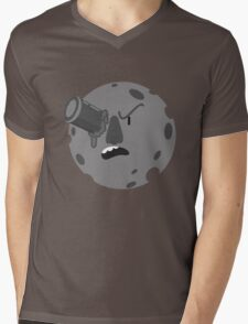 Le voyage dans la lune Mens V-Neck T-Shirt