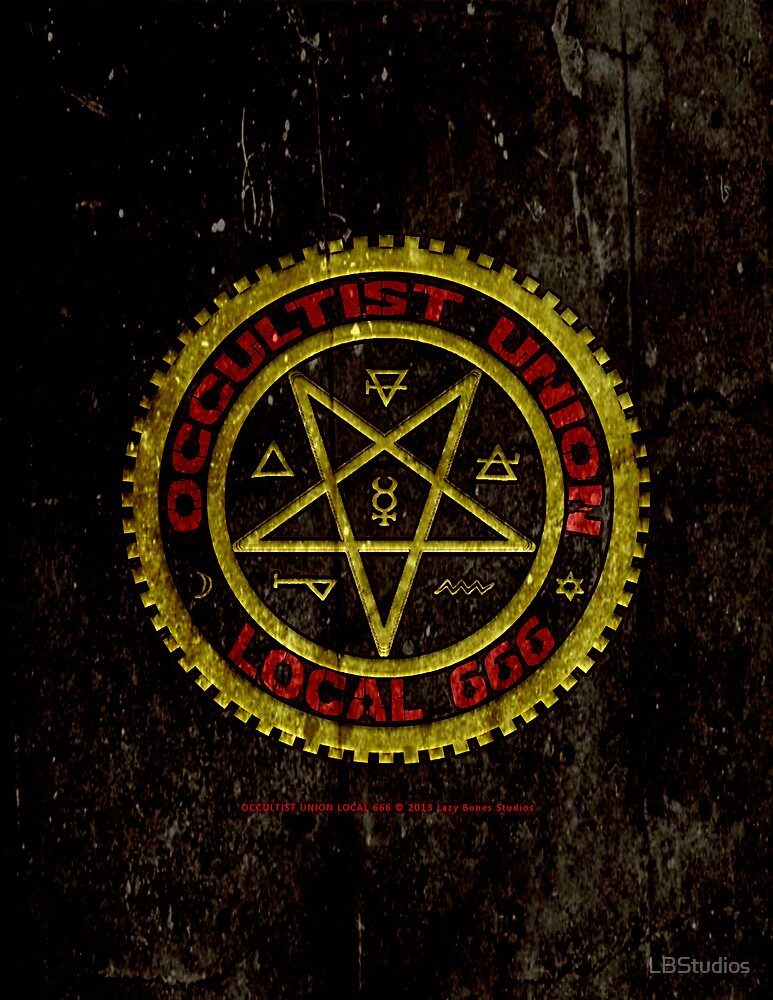 OCCULTIST UNION LOCAL 666     019 by LBStudios