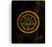 OCCULTIST UNION LOCAL 666     019 Canvas Print