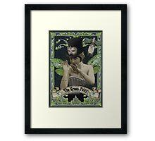 Absinthe Fairy - Marcellin Framed Print