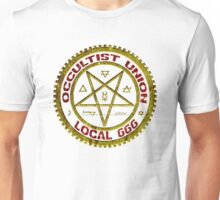 OCCULTIST UNION LOCAL 666     019 Unisex T-Shirt