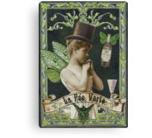 Absinthe Fairy - Verlaine Canvas Print