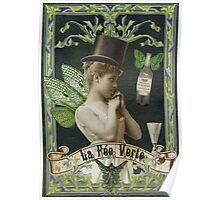 Absinthe Fairy - Verlaine Poster