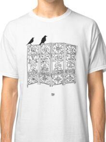 Birds on a screen Classic T-Shirt
