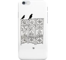 Birds on a screen iPhone Case/Skin