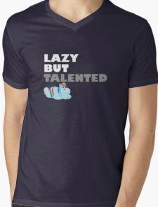 Lazy But Talented - Rainbow Dash VIP Mens V-Neck T-Shirt