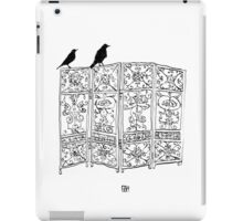 Birds on a screen iPad Case/Skin