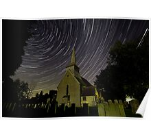 St Andrews By Moonlight Poster