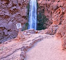 Mooney Falls by Stellina Giannitsi