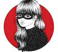 Girl Behind the Mask by Emily Brinkley