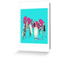 donne ribelle Greeting Card