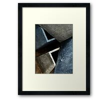 Slate-like Framed Print