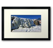 Frosty Waters Framed Print