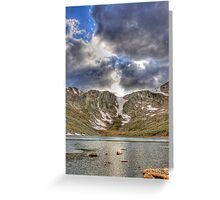 Alpine Landscape Greeting Card