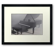 The Grand Piano Framed Print