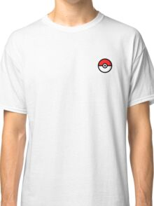 pokemon pokeball side by side style Classic T-Shirt