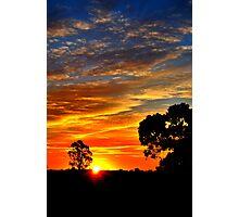 Sunset's Paintbrush Photographic Print