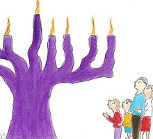 Family and the Miracle of Hanukkah by OraMorrison