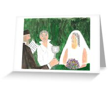 Wedding Ceremony Greeting Card