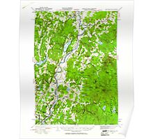 USGS TOPO Map New Hampshire NH Mt Cube 330215 1931 62500 Poster