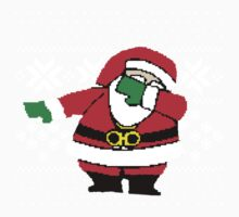 Santa Dab Dancing Kids Clothes