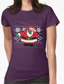 Santa Dab Dancing Womens T-Shirt