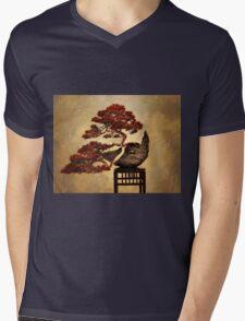 Bonsai Mens V-Neck T-Shirt