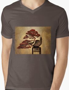 Bonsai Mens V-Neck T-Shirt