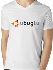 ubugtu Mens V-Neck T-Shirt