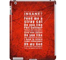 Psychosius iPad Case/Skin