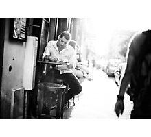 Parisian Streets - Cafe Photographic Print