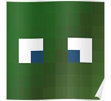 Alsmiffy Minecraft skin - Hatfilms Smith face Poster