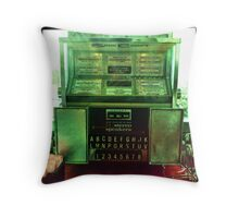 Time Machine Throw Pillow